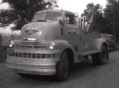 Chevy wrecker as old as me