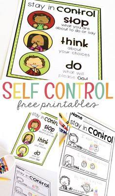 Self Control Chart - Mrs. Jones Creation Station - Best of Mrs. Jones Creation Station - A classroom full of four and five year olds can result in chaos. Even if you have wonderful classro - Behavior Chart Preschool, Preschool Behavior Management, Good Behavior Chart, Behavior Chart Printable, Behavior Chart Toddler, Behavior Plans, Behaviour Management, Behaviour Chart, Kids Behavior
