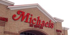 Get a little #crafty and you can save big at Michaels.  #savemoney #lifetips