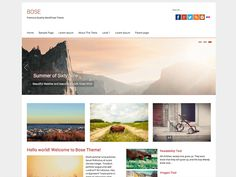 Bose 1.2 is a Major Upgrade and it changes to WordPress' Very Own Customizer, and Drops the Theme Options page. Bose is a Top Notch Responsive WordPress Theme Designed for...