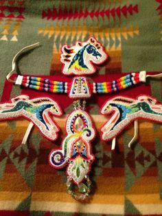 Native beadwork set                                                                                                                                                      More