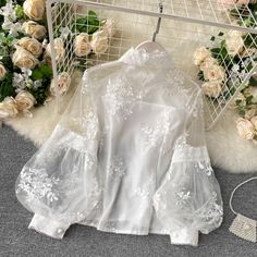 Cute Dresses For Teens, Stylish Dresses For Girls, Stylish Outfits, Girly Outfits, Pretty Outfits, Girls Fashion Clothes, Fashion Dresses, Velvet Dress Designs, Stand Collar Shirt