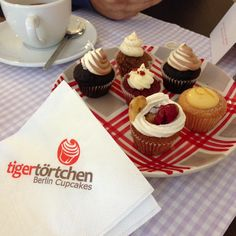 Tigertortchen in Berlin -- best tiny cupcakes ever. In Berlin? Go there!!