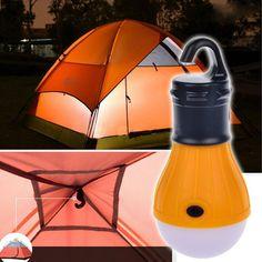 Soft Light Outdoor Hanging LED Camping Tent Light Bulb Fishing Lantern Lamp Wholesale free shipping