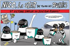 Le Grand Prix de Russie, vu par Cirebox!