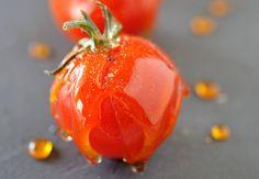 Tomates cerises en pomme d'amour