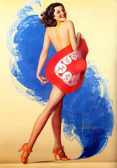 Rolf Armstrong by oldcarguy41, via Flickr