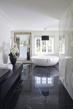 Trend Alert: A Luxury Version of Black & White Minimalist   See more @ http://roomdecorideas.eu/trend-alert-luxury-version-of-black-white-minimalism/