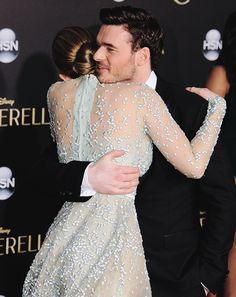 Lily James and Richard Madden Cinderella Movie, Cinderella 2015, Lily James, Richard Madden Shirtless, James Richards, Have Courage And Be Kind, Hollywood Celebrities, Celebrity Gossip, Bridal Collection