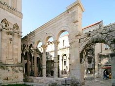 DIOCLETIANS PALACE, Split Croatia | World Monuments Fund