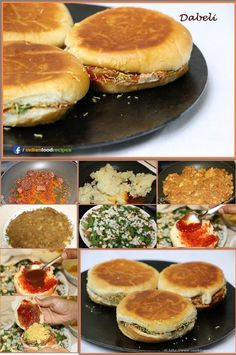 Dabeli, also called as Kutchi Dabeli or Kachchhi Dabeli, is a street food which originated in Kutch. It is a very Popular street food.