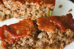 Meatloaf- This was a hit. I'd never considered using crackers in my ...