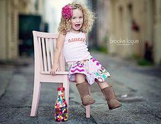 Bridgett Patchwork Skirt by Little Wellies Ready by LittleWellies, $39.95