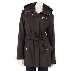118f069378192 Apt. 9 Soft Shell Trench Jacket  150 Kohl s... on sale this week
