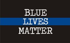 Thin Blue Line  Blue Lives Matter Reflective  Decal