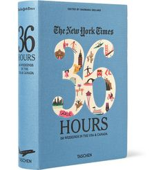 TaschenThe New York Times 36 Hours: 150 Weekends In The USA & Canada Cloth-Bound Book