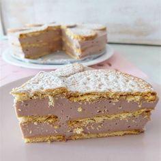 La tarta de galletas light que triunfa en Instagram Time To Eat, Vanilla Cake, Tiramisu, Biscotti, Cheesecake, Healthy, Sweet, Ethnic Recipes, Food
