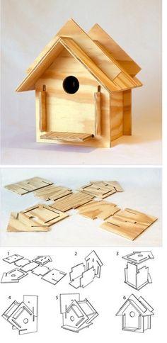 BIRD HOUSE by nana.b