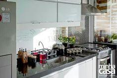 Cozinha pequena mostra Revista Minha Casa