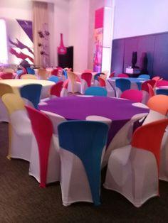Cel. 3182963451  Somos una empresa especializada en el alquiler de mantelería Spandex (lycra) para todo tipo de empresas, particulares y eventos. Tenemos alta capacidad para atender eventos grandes y gran gama de colores.  Esta mantelería permite decorar de forma novedosa y elegante cada evento.