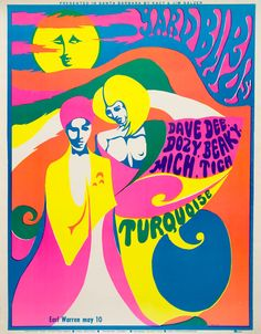10 MAY 1968 Yardbirds played at Earl Warren Showgrounds in Santa Barbara, CA.