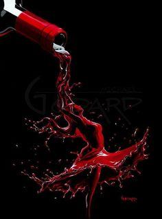 "Michael Godard ""Wine Dance"" 17.5 by 23.3 Limited Ed G Series 250 – Art Center Gallery"