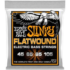 Ernie Ball Hybrid Slinky Flatwound Strings