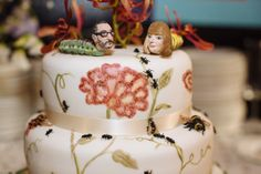 An entomological wedding theme – inspired by insects!  Insect and Creepy Crawly Themed Wedding: Tessa & Matthew