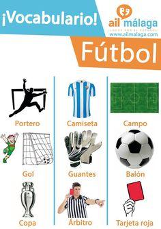 vocabulario fútbol