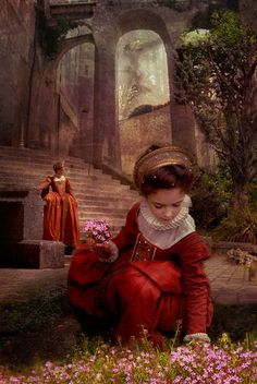 Princess's spring  © Vincent MARIT  Montage on basis my own photos. From reality to dream.