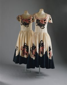 Jeanne Lanvin dresses from the Metropolitan Museum of Art collection.
