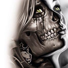 OGABEL (1/2 skull)