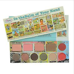 The Balm Cosmetics In the Balm Of Your Hand - Greatest Hits Volume 1 in Health & Beauty,Makeup,Makeup Sets & Kits | eBay