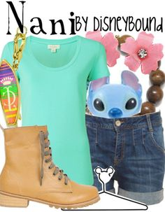 Nani from Lilo and Stitch inspired outfit by DisneyBound