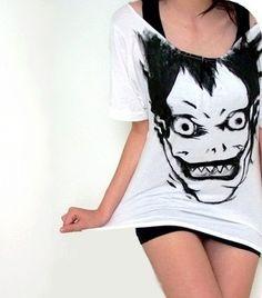 Death Note (Ryuk) T-Shirt. Dying of fangirl feels.