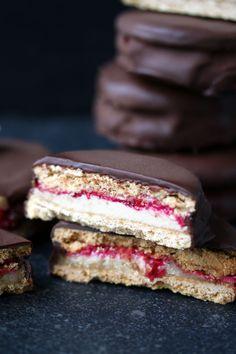 Vegan Gluten-free Wagon Wheels - UK Health Blog - Nadia's Healthy Kitchen