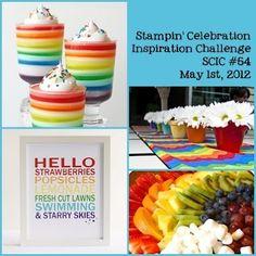 Stampin' Celebration Inspiration Challenge #54  SCIC #54