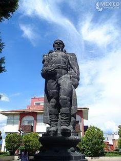 Estatua de Morelos, en Cuernavaca