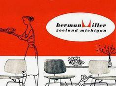 herman miller logo marketing 1952