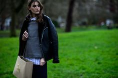 London Fashion Week Fall 2016 Street Style, Day 4 - -Wmag