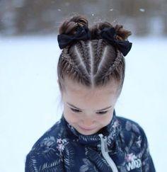 braids - Dutch braids and buns inspired by dutchbraid messybun ❄️ Hollantilaisia lettejä ja nutturoita ❄️ Childrens Hairstyles, Baby Girl Hairstyles, Kids Braided Hairstyles, Box Braids Hairstyles, African Hairstyles, Cool Hairstyles, Hairstyles 2018, Teenage Hairstyles, Girl Hairstyles