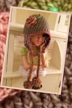 Rose hat ~ made by VanSjoukje© ~ crochet ~ girl ~ haken ~ muts ~ meisje