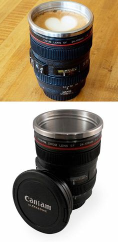 photographer mug/ perfect for sneakng onto sporting events