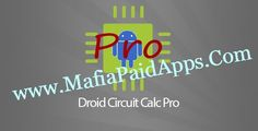 Droid Circuit Calc Pro v3.4 Apk   [[[[[[[[[[[[[[[[[ Discount Week is ON my dear fellows!!!! The price is down to 1.49$ from 1.99$.........Hurry up guys don't miss the opportunity ]]]]]]]]Droid Circuit Calc Pro has free electronics circuits electronics calculators components info pinouts resources cables data and much more. It helps and makes it lot easier to do calculations for your circuits and design works. The Pro version has electronic calculators electronic components guide useful…