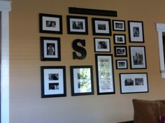 The Perfect Picture Wall Template Kit Decorating Ideas