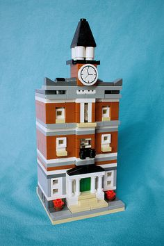 LEGO Mini Modular Town Hall | by suparMacho