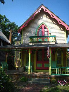 Pastel House  Martha's Vineyard