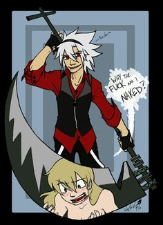 Maka's weapon form!!!!! Its so cool!!