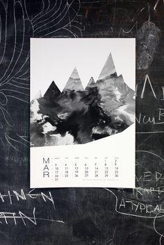 """Misty Mountain Hop"" by Teija Vartiainen, for March in Calendar 14."