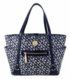 Tommy Hilfiger Womens Handbag, Shopper Tote Bag